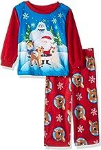 Rudolph Boys' Baby Red-Nosed Reindeer 2-Piece Fleece Pajama Set
