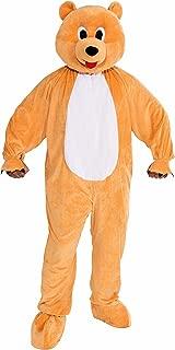 Men's Honey Bear Plush Mascot Costume