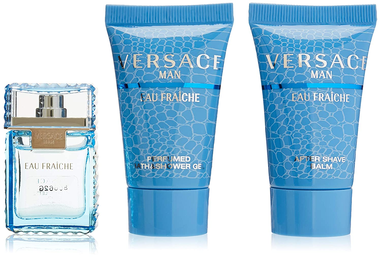 Versace Man Eau Fraiche Piece Direct store New product! New type Set Mini 3