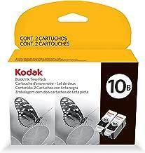 Kodak 8240236 10B Ink Cartridge Two-Pack Ink (Black)