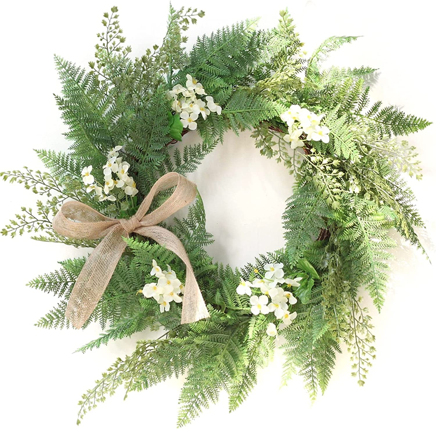 ZHAWE Wreath Sales results No. Mail order cheap 1 for Front Door Fall Gar 50CM Decor- Wall Decoration