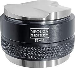 NEOUZA 51mm Coffee Distributor & Tamper 2 in 1, Dual Head Coffee Leveler Fits for 51mm Delonghi Breville Portafilter, Adju...