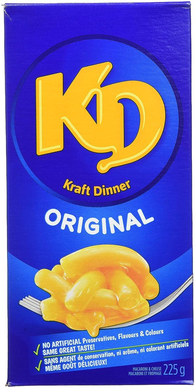 Kraft Dinner Original favorite Brand new Macaroni Cheese 12 225 g x
