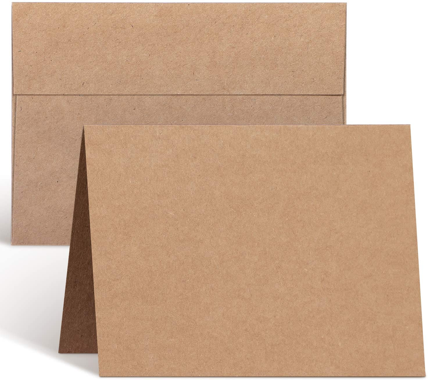 Blank Cards Factory outlet and Envelopes 100 Pack Chicago Mall Ohuhu Heavyweight 4.25 x 5.5