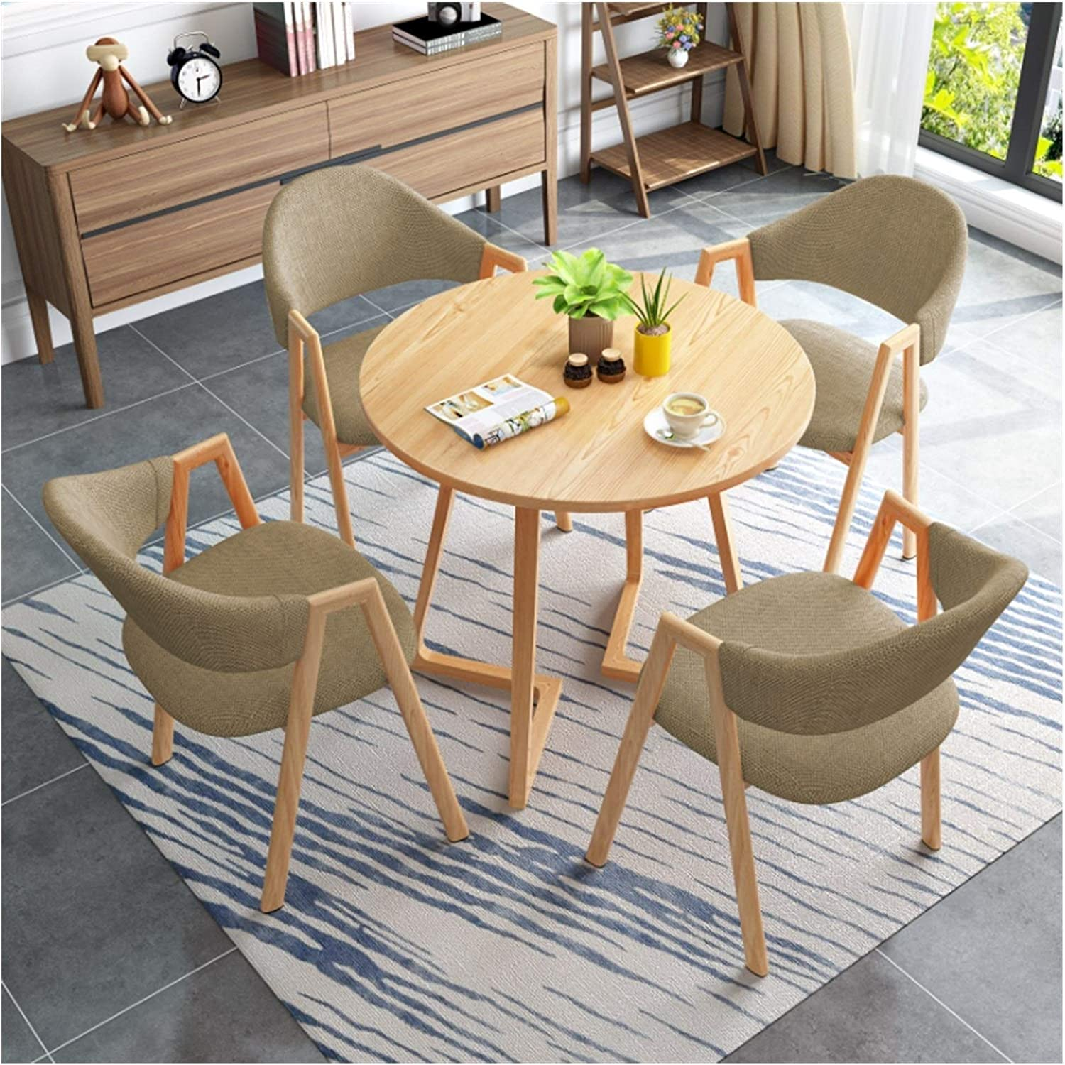 WANGLX Dining Table Set for quality assurance Tabl Max 78% OFF Room Kitchen Modern and
