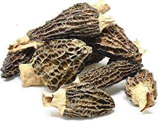Dried Morel Mushrooms by Slofoodgroup (Morchella Conica) Gourmet Morel Mushrooms Various Sizes of Morels Available (15 Morel Mushrooms)