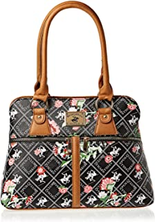 Beverly Hills Polo Club Satchel for Women- Brown