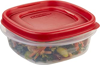 Rubbermaid Easy Find Lid Food Storage Container, 1-1/4 Cup