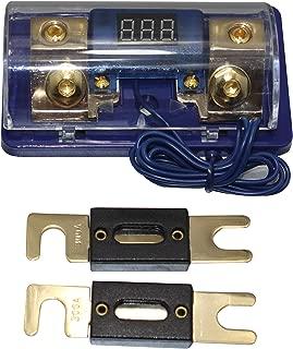 ANL Digital Platinum ANL Distribution Block 0-4 Ga Fuse Holder Free 500A ANL Fuse SKFH061G