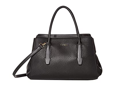 Fiorelli Kim Satchel (Black) Handbags