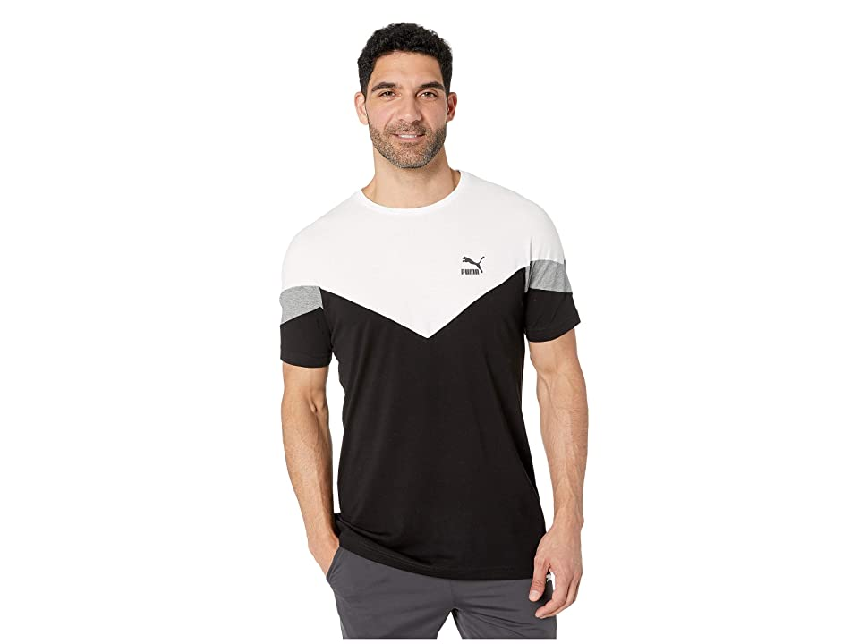 PUMA Iconic MCS Tee (Cotton Black) Men's T Shirt