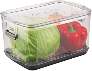 Prepworks by Progressive Produce ProKeeper Storage Container with Stay-Fresh Vent System, 5.7 Quarts