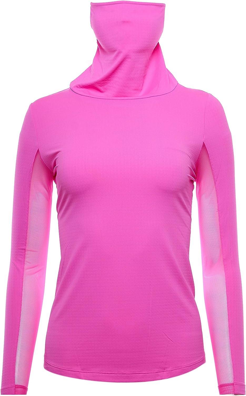 IBKUL Golf- Ladies Convertible Mock lowest price Branded goods IBKareFUL