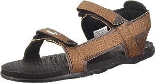 Puma Men's Prego Idp Black-Castlerock-Teal Gre Outdoor Sandals