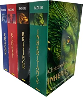 Christopher Paolini Inheritance 4 Books Collection Pack Set