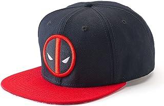 b63024e338599 Marvel Comics Deadpool Embroidered Logo Snapback Baseball Cap