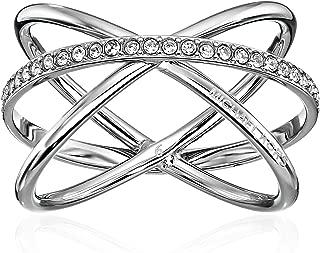 Pave Crisscross Ring