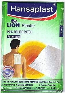 Hansaplast Lion plaster (Belladonna) 1 pack (10 Sheets) Pain Relief Patch