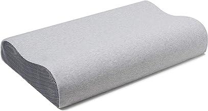 وسادة كولوكس ميموري فوم - وسائد نوم عنق الرحم، وسادة سرير محيطية للظهر، المعدة والنوم الجانبي- وسادة علوية لتقويم العظام ل...