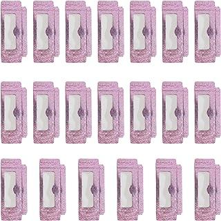 Beaupretty Caixa de armazenamento de cílios postiços para 20 peças, caixa de armazenamento de cílios vazios para mulheres ...