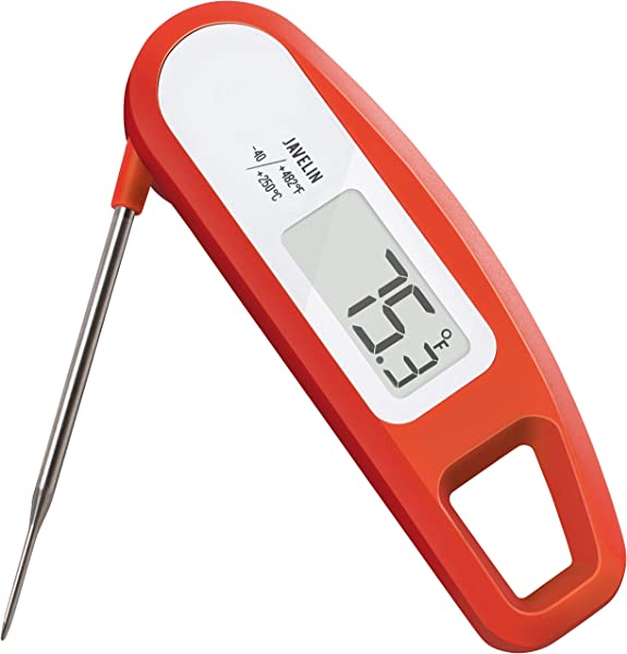 Lavatools PT12 Javelin Digital Ultra Fast Instant Read Meat Thermometer For Kitchen Outdoor Grilling BBQ Brewing And Frying Chipotle