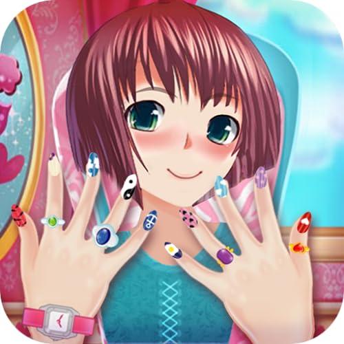 Anime Mädchen Nagelsalon: Maniküre 💅 Nagellack Spiel
