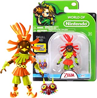 Legend of Zelda World of Nintendo Year 2016 The Series 4-1/2 Inch Tall Figure - SKULL KID with Mask