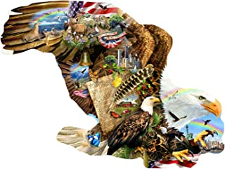 Freedom for All 1000 Shaped Piece Jigsaw Puzzle by SunsOut