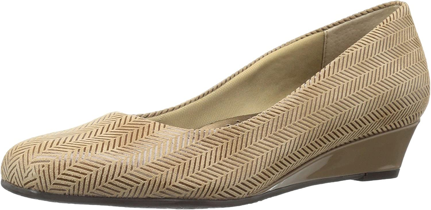 Tredters Women's Lauren Dress Wedge, Taupe, 7.5 N US