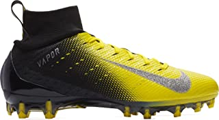 black and yellow nike cleats