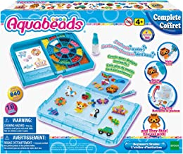 Aquabeads Beginners Studio Indoor Arts & Crafts Activity Kit; Creative Fun and Hours of Play with Over 840 Beads, AB32828