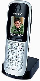 Gigaset S68H DECT Mobilteil (beleuchtetes grafisches Display, Freisprechfunktion, Bluetooth) inkl. Ladeschale titanium