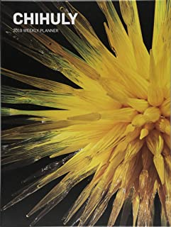 Chihuly 2019 Weekly Planner