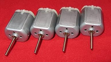 4 Pack - 20mm Round Shaft Central Door Lock Actuator Motor FC-280PC-22125, Spindle, Power Locking Repair Engine