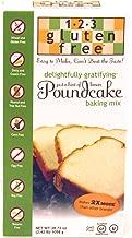 123 Gluten Free Delightfully Gratifying Poundcake Mix Hint of Lemon - 38.72 oz