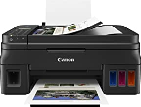 Canon PIXMA G4210 Wireless All-In-One Supertank (Megatank) Printer, Copier, Scan, Fax and ADF with Mobile Printing, Black,...