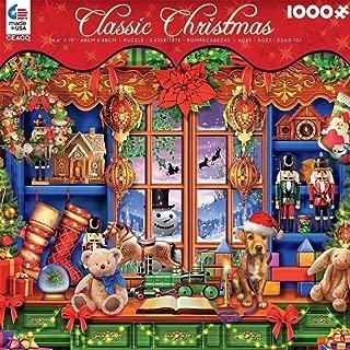 Ceaco Classic Christmas Puzzle Ye Olde Christmas Shoppe Ciro Marchetti 1000 Pieces