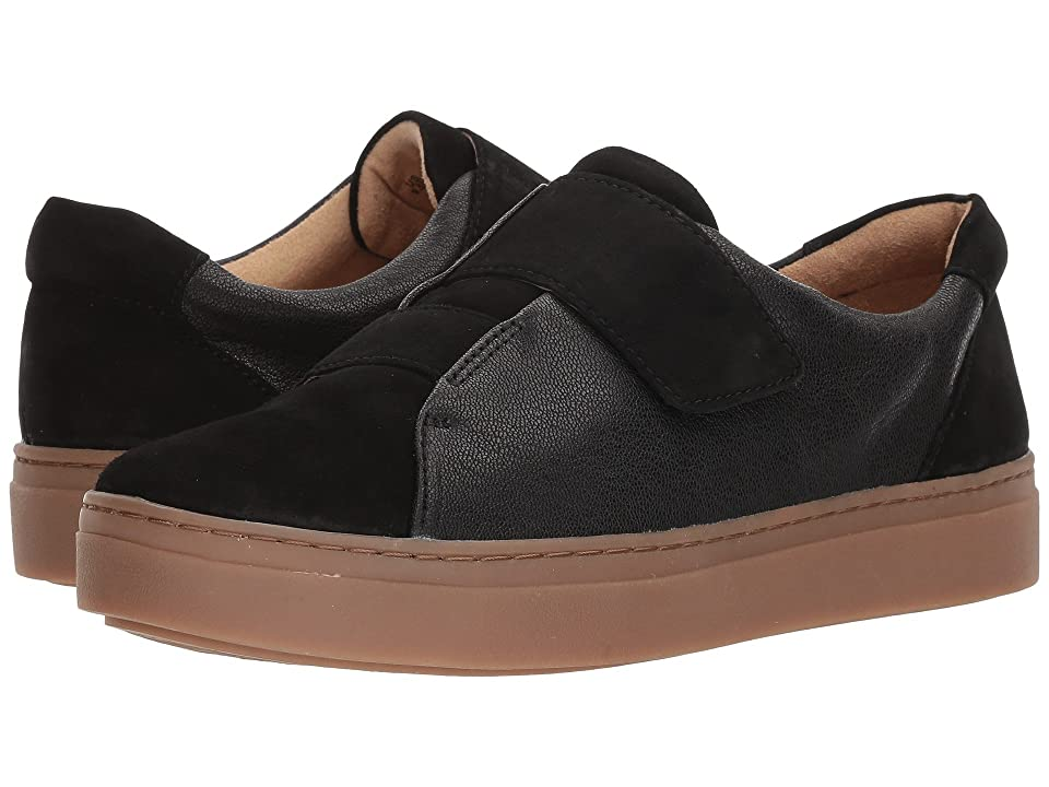 Naturalizer Charlie (Black Tumbled Leather/Suede) Women