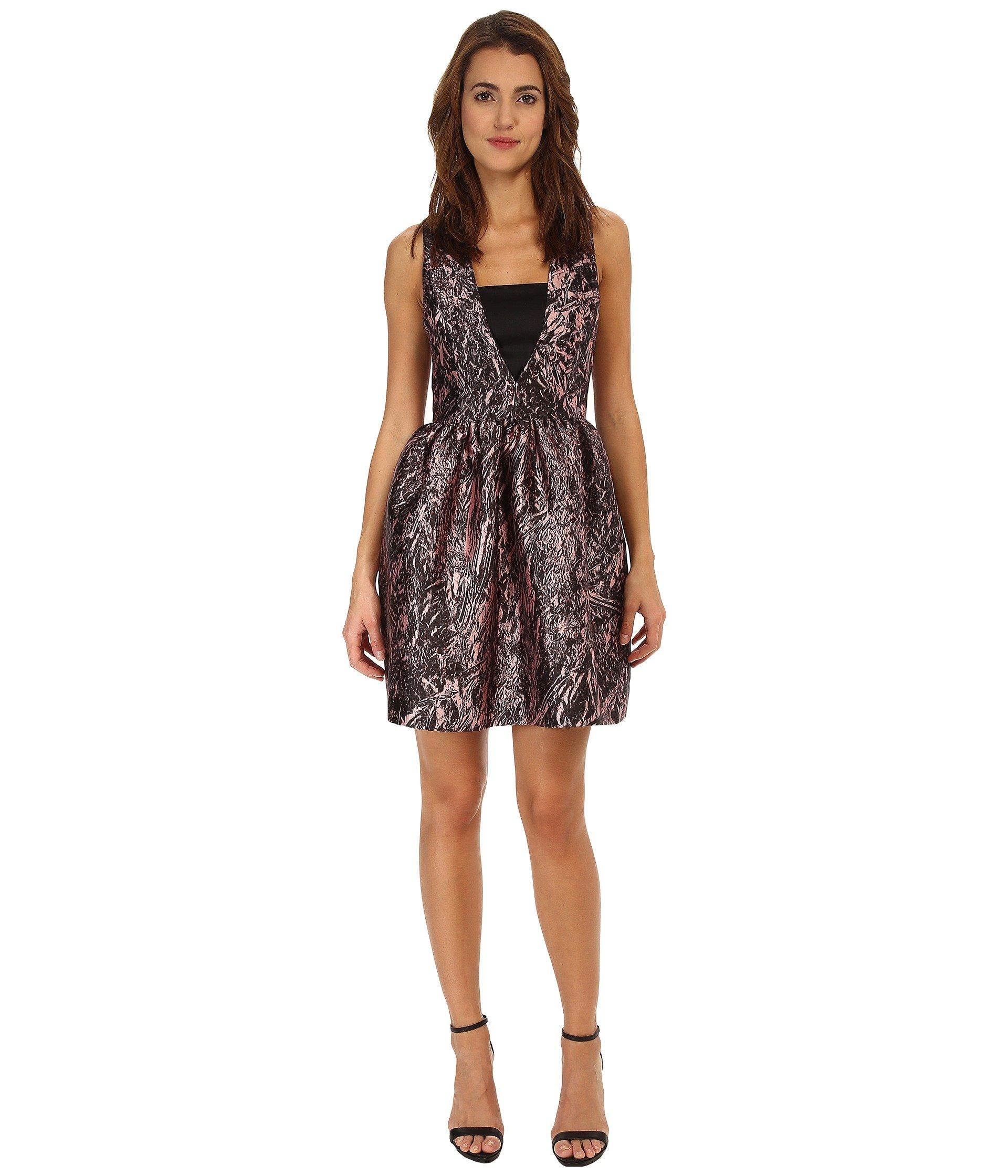 Long V Party Dress