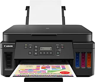 Canon PIXMA G6020 All-In-One Supertank Wireless (Megatank) Printer, Copier and Scan with Mobile Printing, Black
