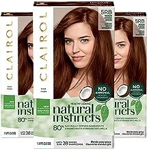 Clairol Natural Instincts Semi-Permanent, 5RB Reddish Brown, Pack of 3