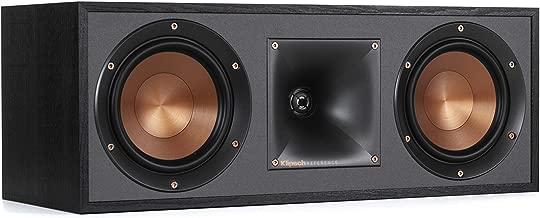 Klipsch R-52C Powerful detailed Center Channel Home Speaker - Black