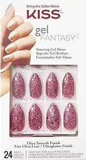 Kiss Gel Fantasy Ready-to-Wear Gel 24 Nails KGN52 Francesca
