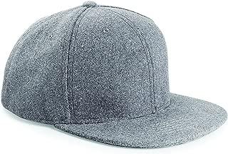 Melton Wool Retro Snapback Cap