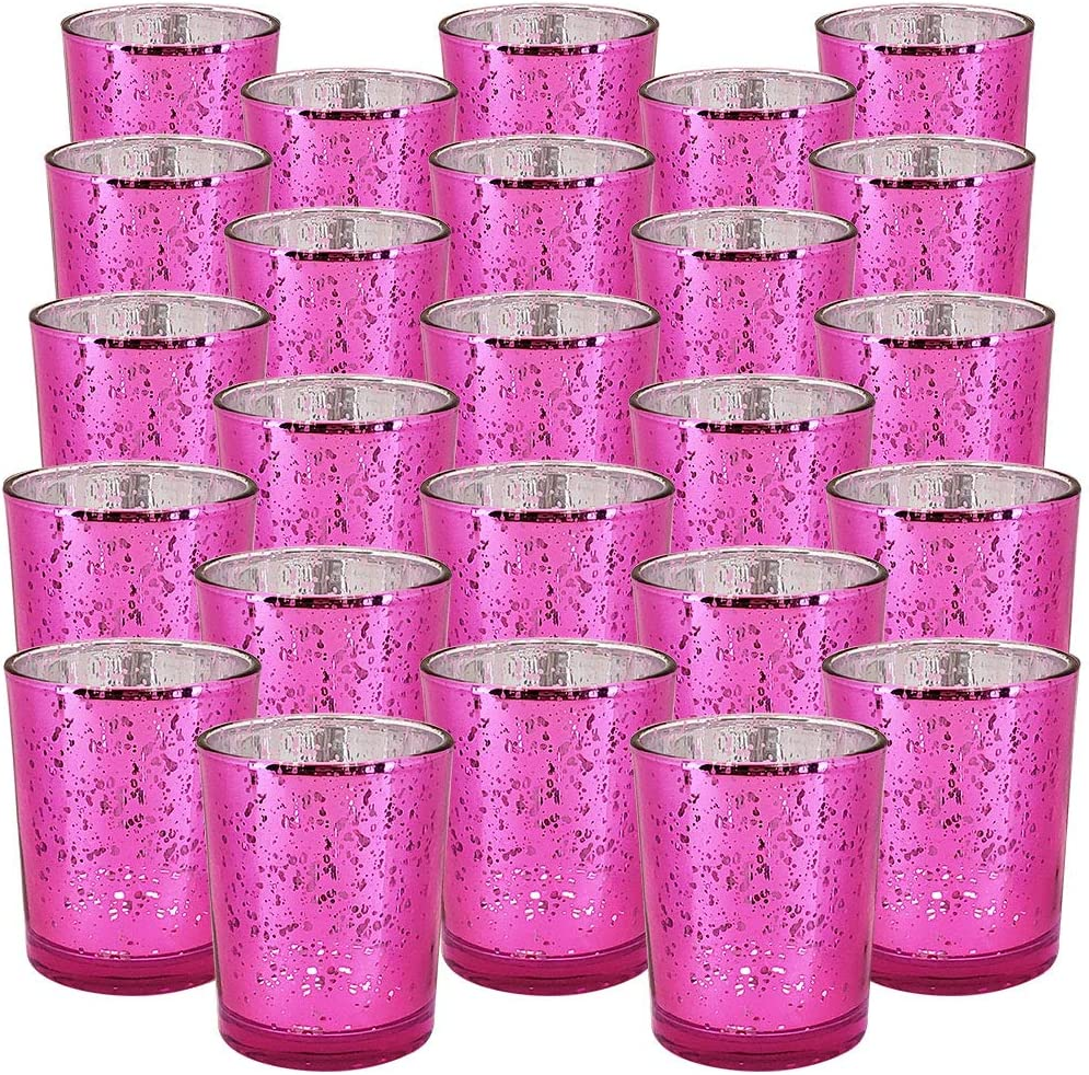 Just Artifacts 2.75-Inch Speckled Mercury Popular products Votive Sale price Glass Ho Candle