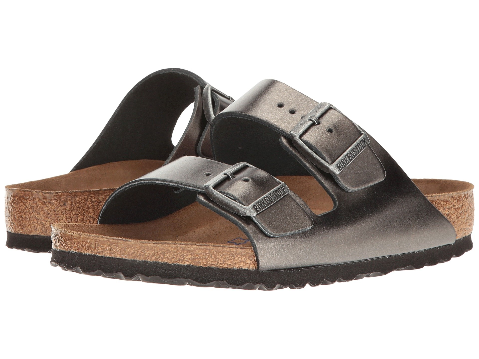 b8b6e491a7bc Birkenstock. Arizona Soft Footbed - Leather (Unisex).  134.95. 5Rated 5  stars. Metallic Anthracite Leather