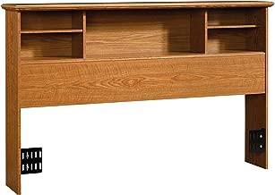 Sauder Orchard Hills Full/Queen Bookcase Headboard, Carolina Oak finish
