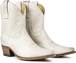 Sendra Bottines Cowboy 16954 Gene en cuir vieilli Couleur glace