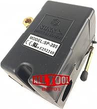 Replacement Air Compressor Pressure Switch, Sunny L1, 1 port, 95-125 PSI, 25 Amp