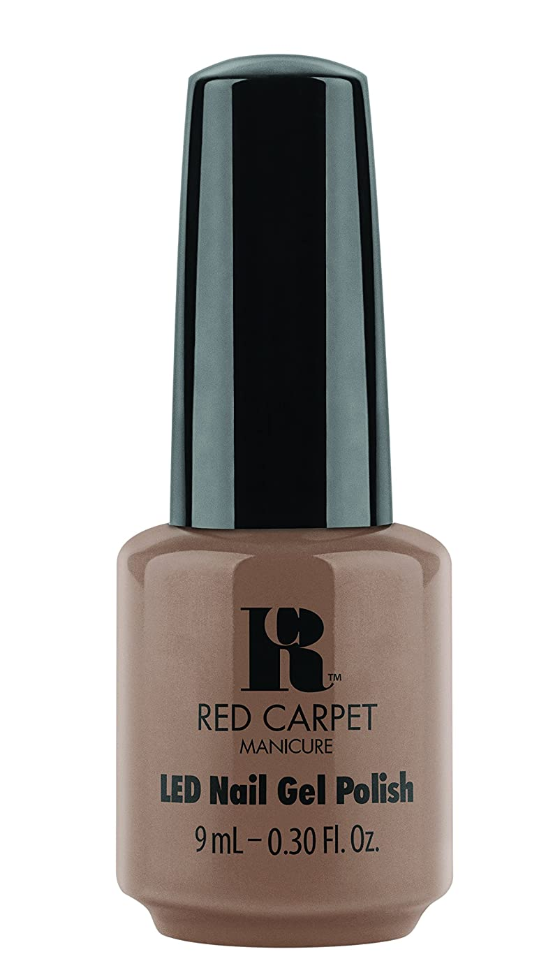 教会恵み加速するRed Carpet Manicure - LED Nail Gel Polish - Re-Nude - 0.3oz / 9ml